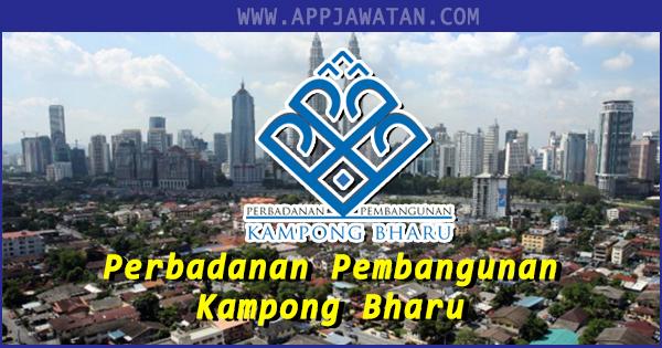 Jawatan Kosong Kerajaan di Perbadanan Pembangunan Kampong Bharu