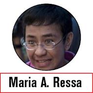 CONGRATZ, MARIA THE BALLSY!