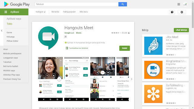 Google Hangout Meets