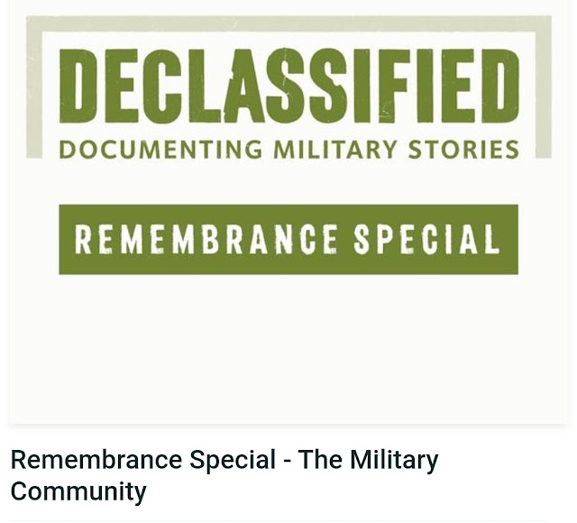 Prince Harry participated in a Declassified Podcast Remembrance Day Special