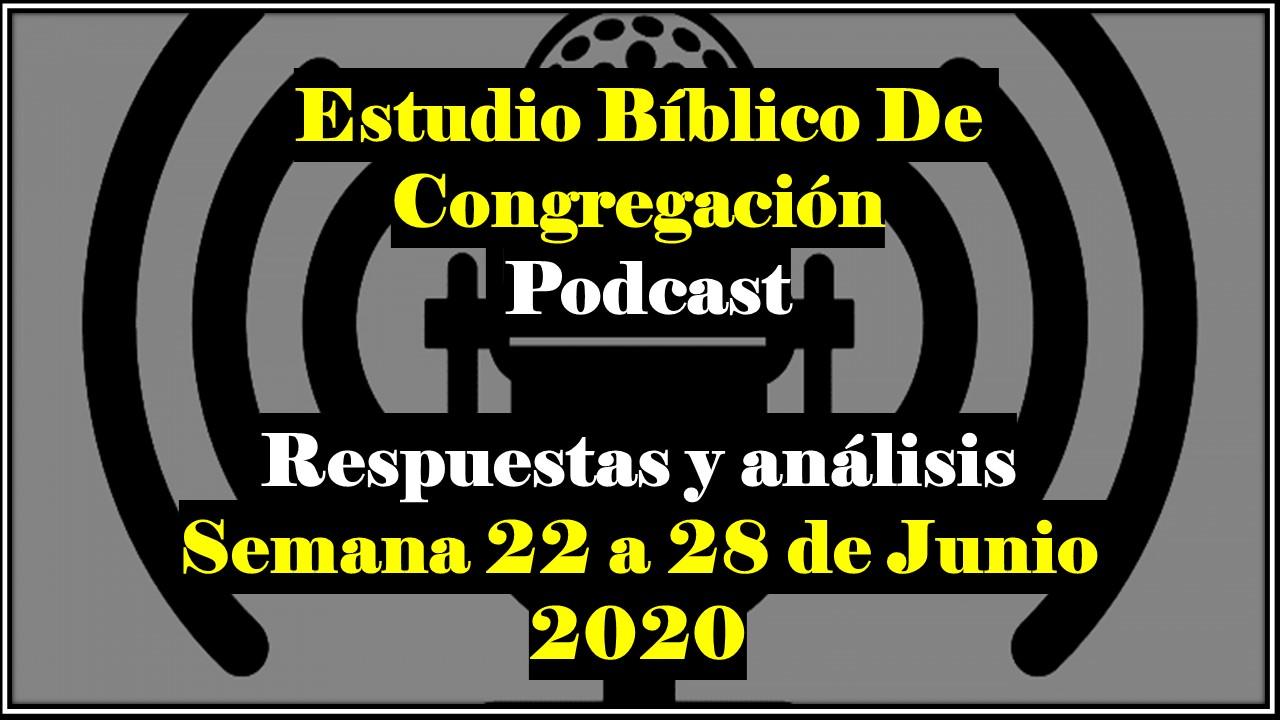 Estudio Del Libro De Congregacion De Esta Semana ...
