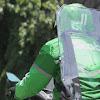 Cerita Para Pengemudi GrabBike Protect Hadapi Kebiasaan Baru saat Pandemi Corona