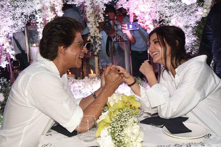 Shah Rukh Khan and Anushka Sharma at 'Hawayein' Song Launch Event