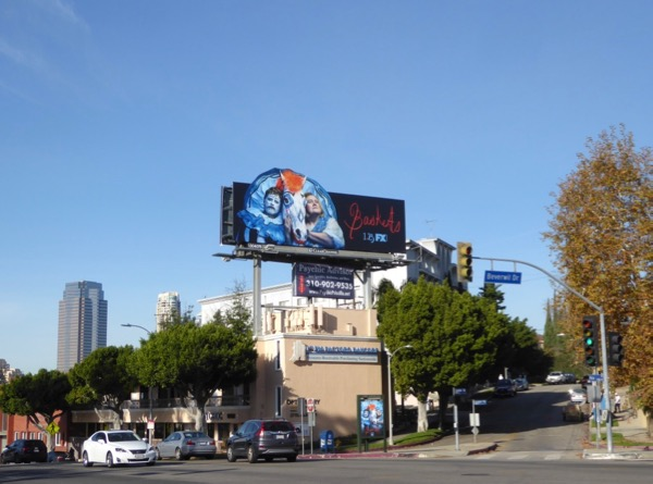 Baskets season 3 billboard