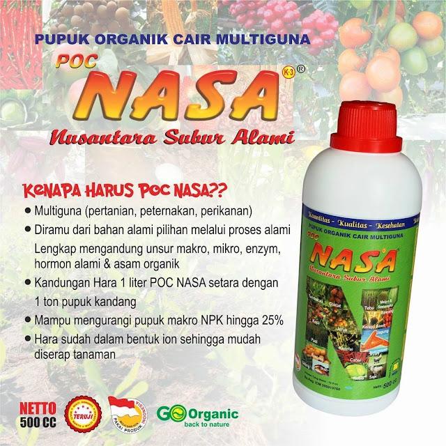 Pupuk Organik Cair NASA - Solusi Budidaya Perikanan, Peternakan dan Pertanian