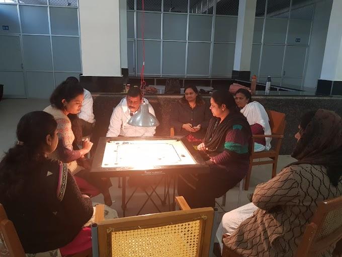 MPPHED महिला कैरम प्रतियोगिता, विजेता डाक्टर वर्षा श्रीवास्तव, वर्षा शिवपुरे-स्मृति मेंढेकर
