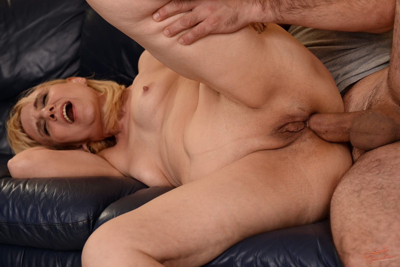 Anal old sex woman