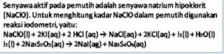 senyawa aktif pada pemutih