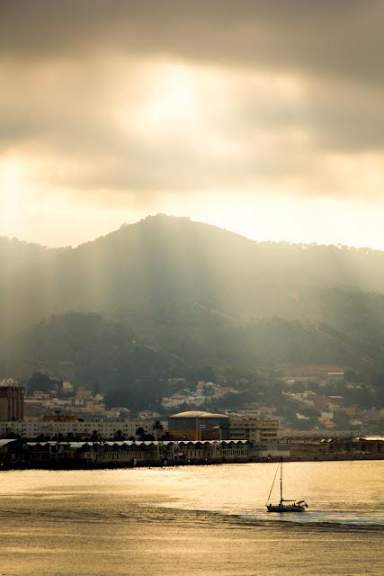 Entrando al puerto de Ceuta