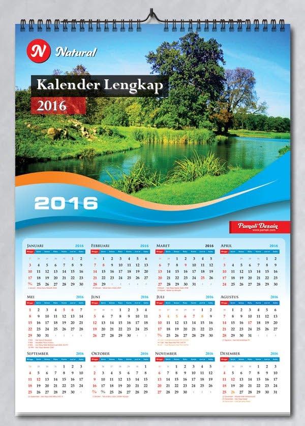 Download Template Kalender 2019 Free