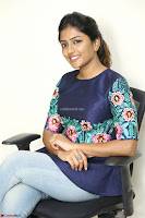 Eesha Looks super cute stunning in Denim Jeans and Top at Darsakudu movie Inerview ~  Exclusive 030.JPG