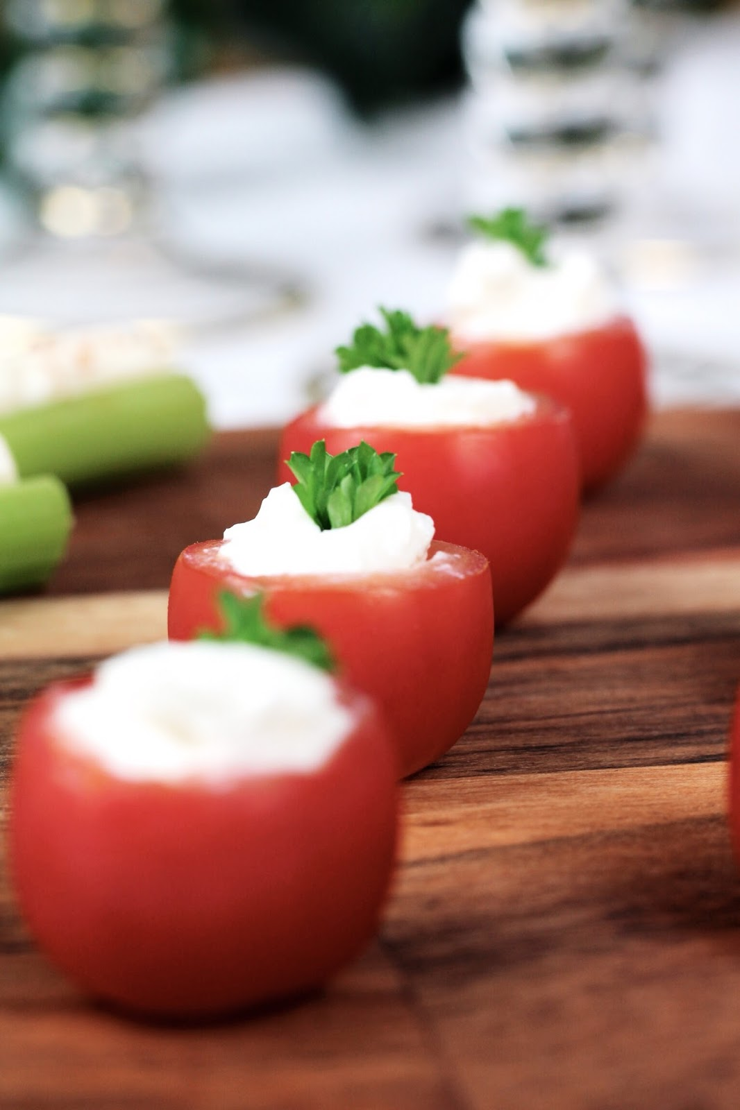 Quick and luxurious looking party appetizers