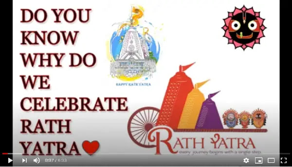 Essay on Jagannath Puri Rath Yatra