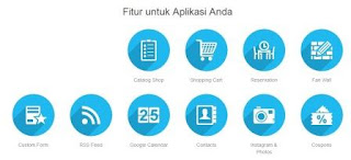 Bikin aplikasi android dan ios sangat gampang, fitur lengkap sudah disediakan dan tinggal disesuaikan.