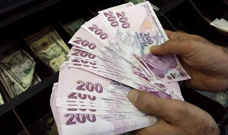 سعر صرف الليرة التركية أمام العملات الرئيسية الثلاثاء 28/1/2020