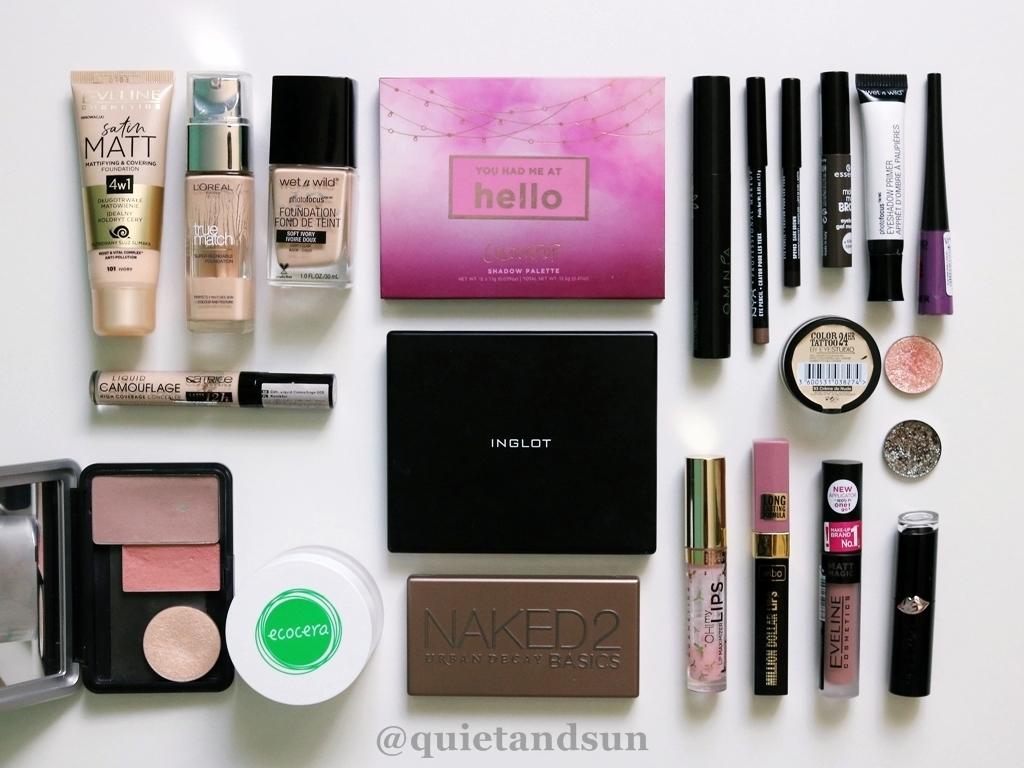 ile macie kosmetyków do makijażu
