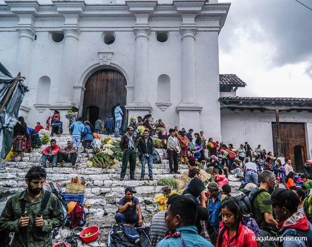 Igreja de São Tomás, Chichicastenango, Guatemala