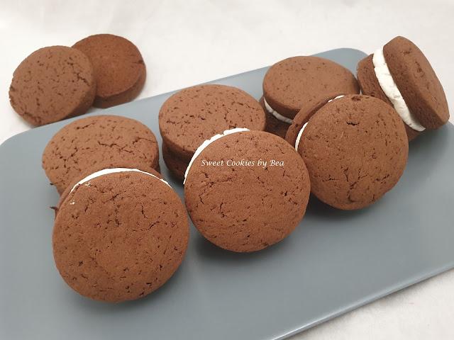 Alfajores de chocolate marplatenses
