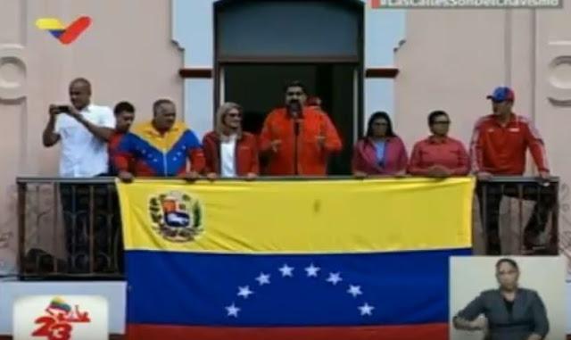 """Maduro: """"Pretenden designar al presidente de Venezuela por vías extraconstitucionales"""""""