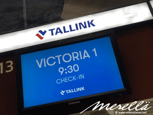 Helsinki - Tallinna Victoria