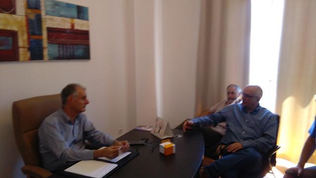 Συνάντηση του Γιάννη Γκιόλα με την επιτροπή για την επαναλειτουργία του τρένου στην Αργολίδα