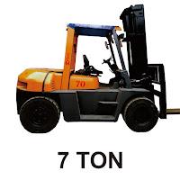 Rental Forklift 7 Ton