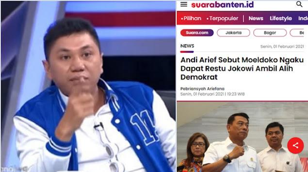 Jansen Ingatkan Jenderal yang Mau 'Kudeta' Demokrat: Jangan Lupa Sejarah Dirimu, Ada Jasa Pak SBY