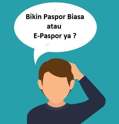 e-paspor indonesia cara buat dan kelemahan