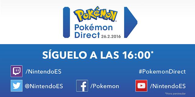 Se anuncia un Nintendo Direct enfocado a Pokémon para el viernes 1