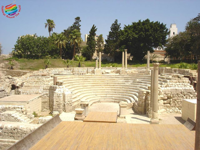 The Roman Theater - Alexandria
