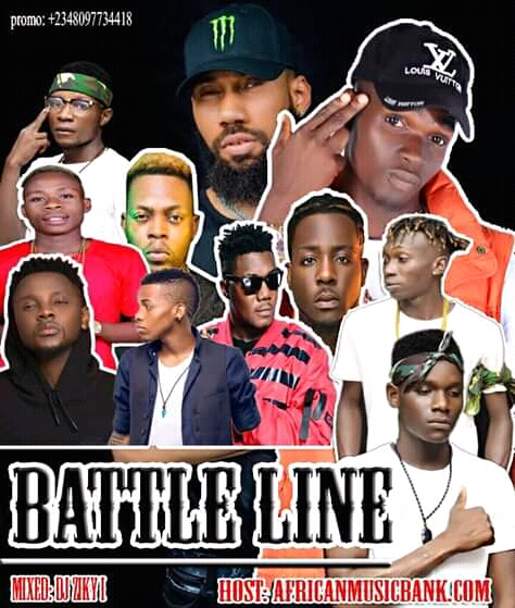 DOWNLOAD: BATTLE LINE MIX TAPE. || AFRICANMUSICBANK