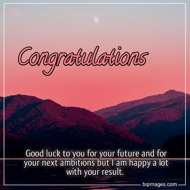congratulations images for good result