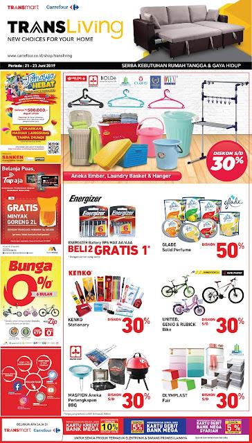 #Transmart #Carrefour - #Promo #Katalog Akhir Pekan Periode 21 - 23 Juni 2019