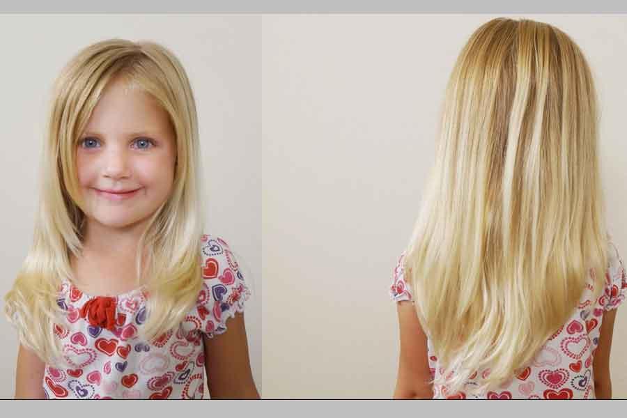 Potongan Rambut Layer V-Cut