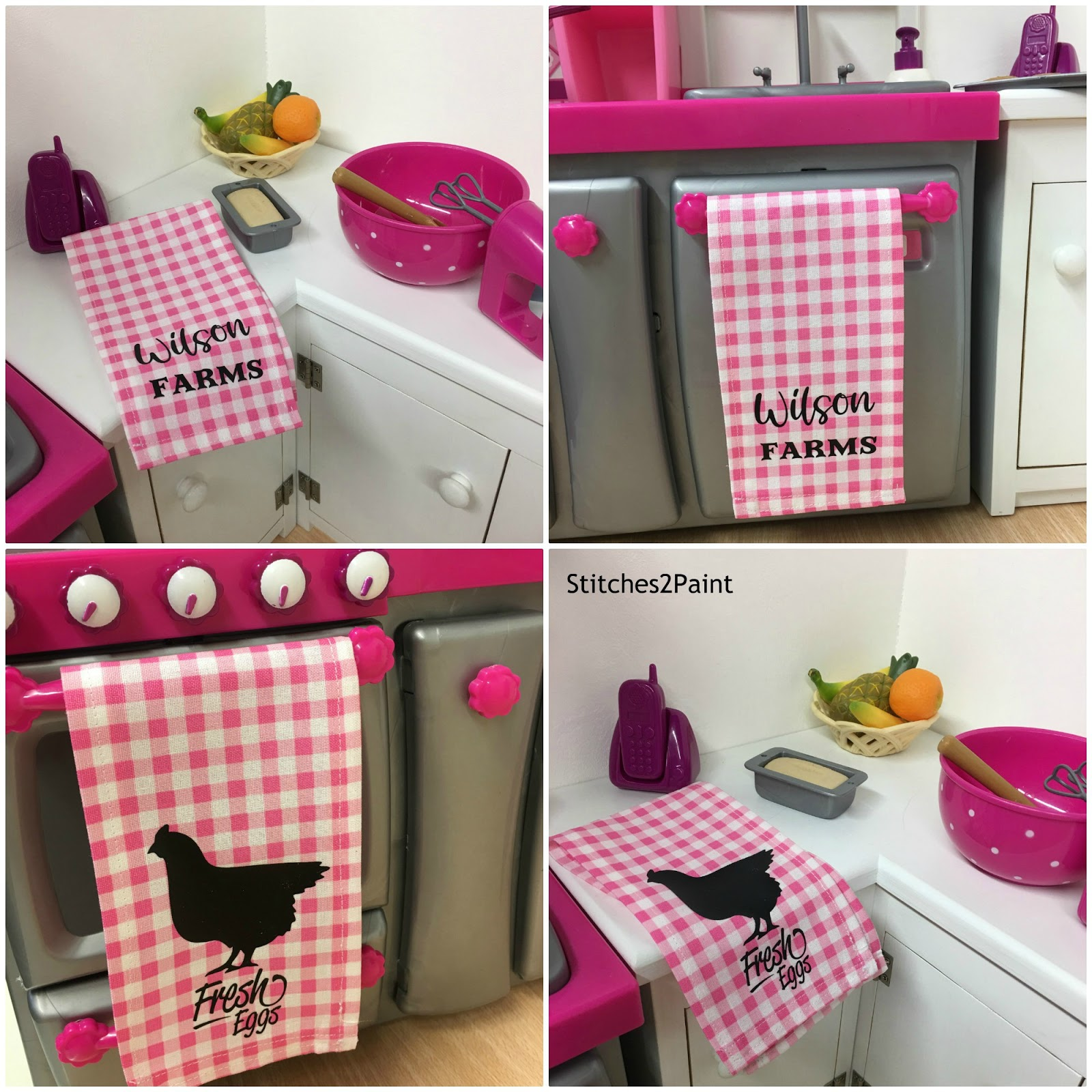 Gigi S Doll And Craft Creations Farmhouse Style Kitchen Towels For