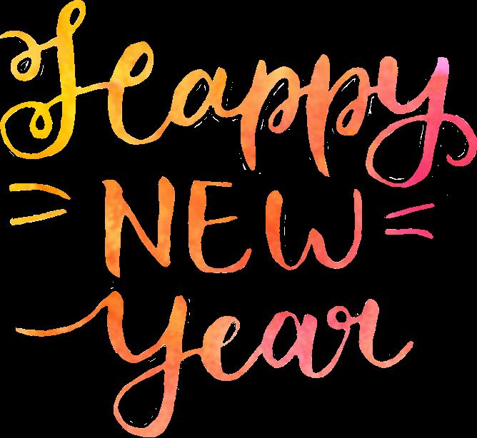 render happy new year neko