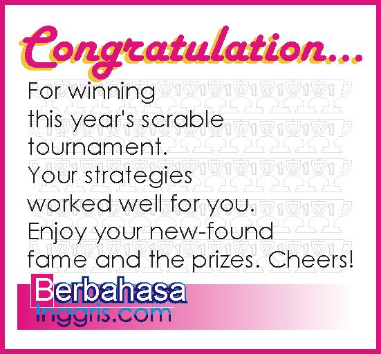 20 contoh kartu ucapan selamat menang lomba dalam bahasa inggris dan englishiana congratulations m4hsunfo