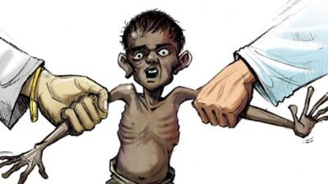 """""""मामा राज"""" में कुपोषण का काल"""
