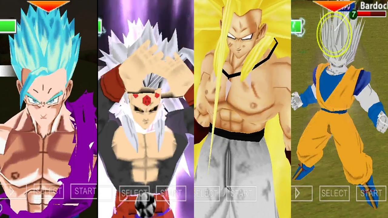 Dragon Ball Super Vs AF DBZ TTT MOD