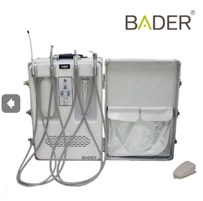 BADER®  UNIDAD DENTAL PORTÁTIL CARRY ON BADER 275AA