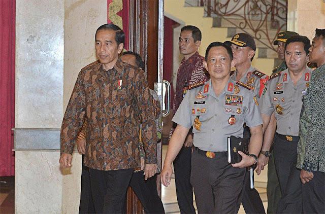 BPN Menduga Jokowi yang Menyeret Polri ke Kancah Politik