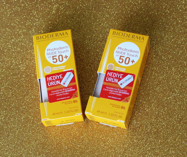 Bioderma Nude Touch Spf 50 Light - Natural