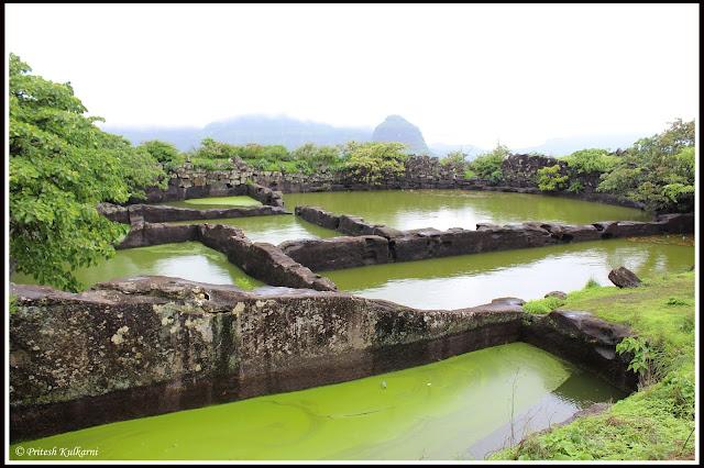 Saptamatrika water trenches