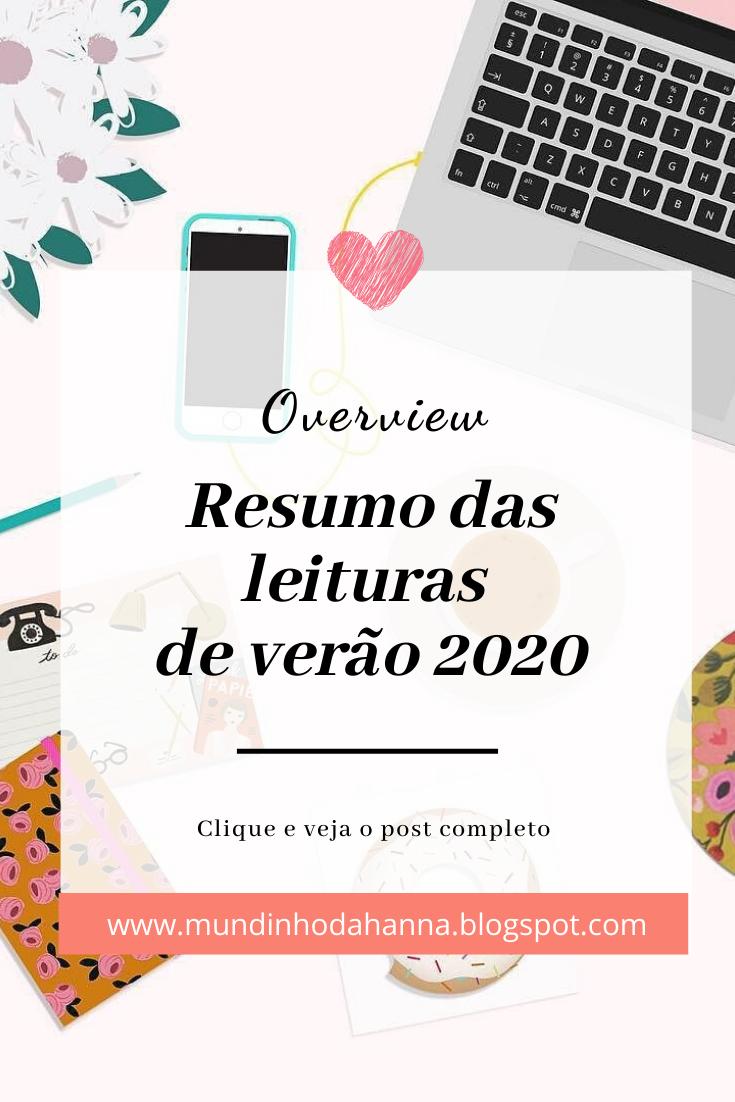 Resumo das leituras de verão 2020