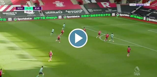 Southampton vs Everton Live Score