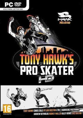 Capa do Tony Hawk's Pro Skater HD