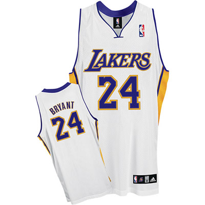 best loved 7a2e2 f52c1 NBA 2K12 LA Lakers Real Retro White Jersey - NBA2K.ORG