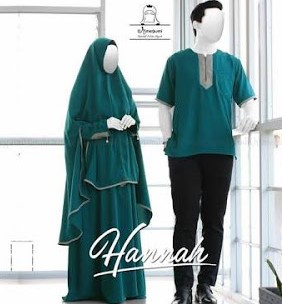 Set Gamis Syar'i Couple