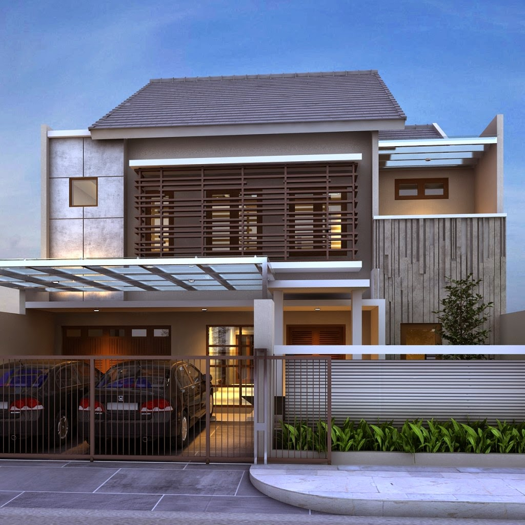Bali Agung Property Kumpulan Desain Fasad Rumah Minimalis