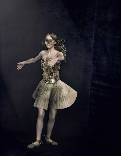 Lily-Rose Depp fashion magazine model photo